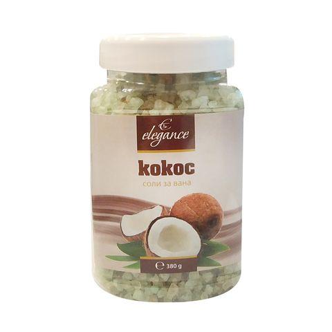 Elegance Соли за вана с аромат на кокос х380 грама