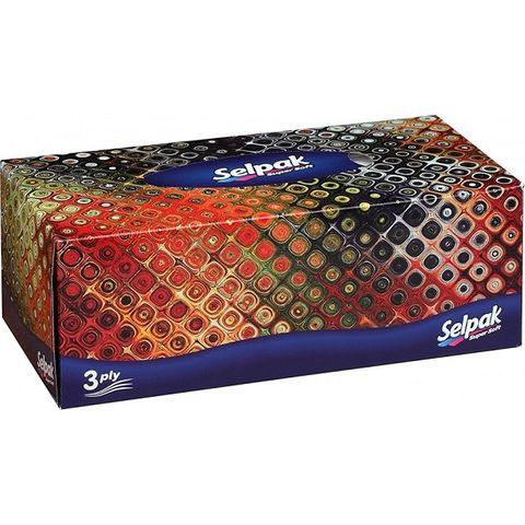 Selpak Super Soft Козметични кърпи x100 броя