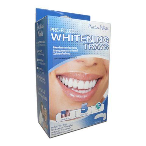 Beaming White Ready White Комплект за домашно избелване на зъби с готови шини х10 броя