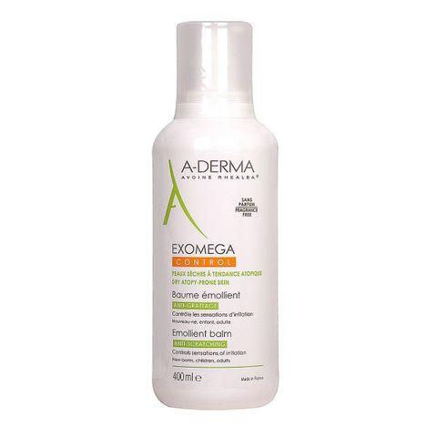 A-Derma Exomega Control Емолиентен балсам за лице и тяло за много суха и атопична кожа x400 мл