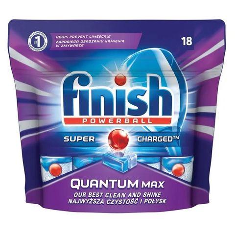 Finish Quantum Max Таблетки за съдомиялна машина x18 броя