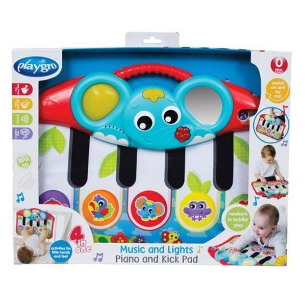 Playgro Музикално пиано за ръце и крачета за деца над 0 месеца - 0157