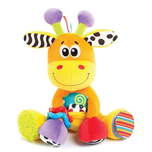 Playgro Активен жираф за гушкане за деца над 0 месеца - 0156