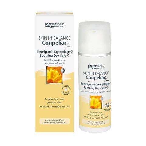 Coupeliac Купелиак Дневен крем за лице за кожа склонна към зачервяване и купероза SPF15 x50 мл