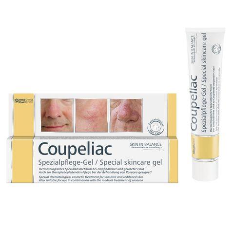 Coupeliac Купелиак Интензивен гел за лице за кожа склонна към зачервяване и купероза x20 мл