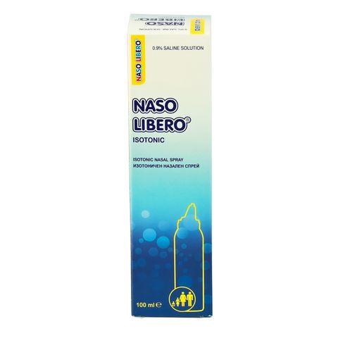 Naso Libero Isotonic Спрей за нос с физиологичен разтвор 0.9% NaCl х100 мл