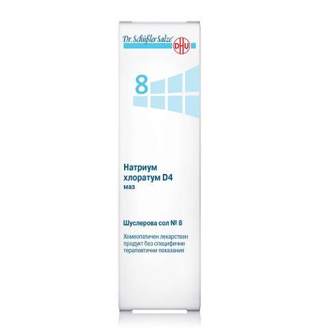 Шуслерова сол No.8 Натриум хлоратум D4 Мехлем за подобряване на хидратацията на кожата x50 грама
