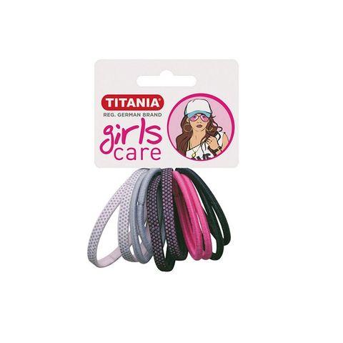 Titania Girls Care Ластици за коса, модел 7820 х10 броя