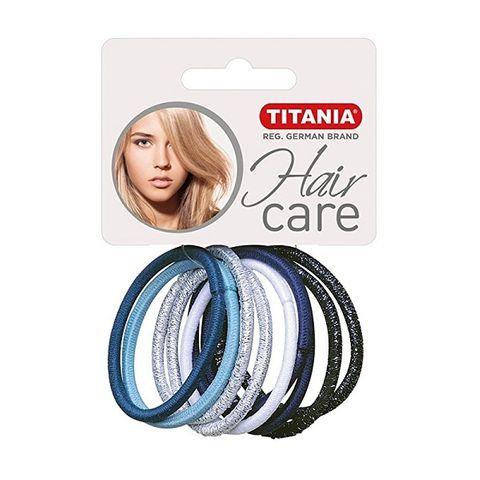 Titania Hair Care Ластици за коса, модел 7817 х 9 броя