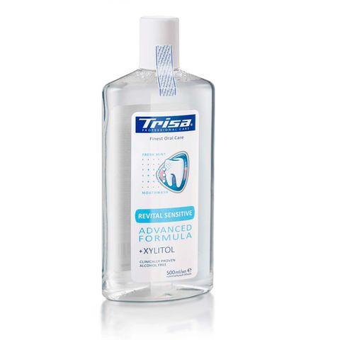 Trisa Revital Sensitive Вода за уста за чувствителни зъби и венци х500 мл