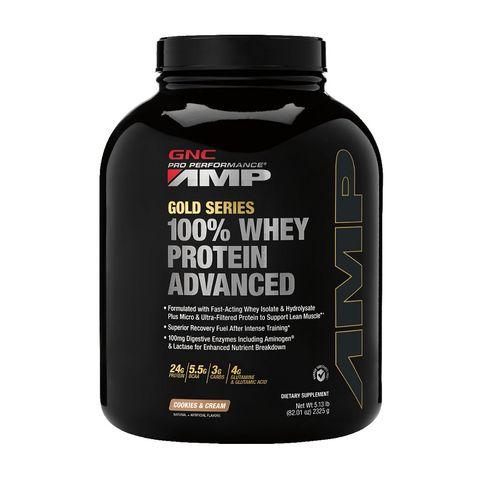 GNC PP AMP Gold Series Суроватъчен протеин с вкус на бисквитка и крем х2325 грама