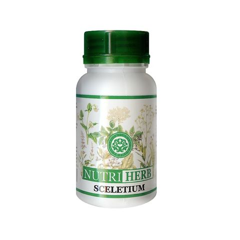 Nutri Herb Скелетиум за тонус и енергия 50 мг х60 капсули