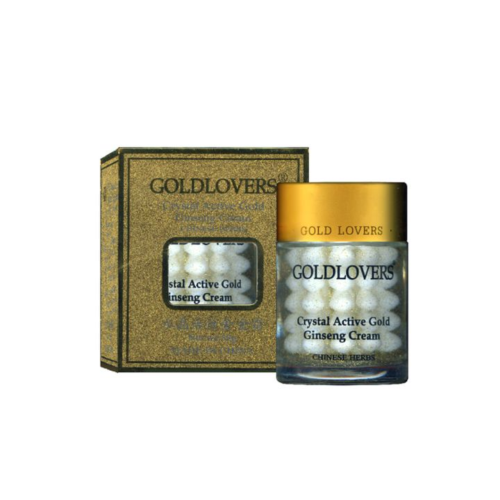 Goldlоvers Крем за лице с активно злато и женшен х58 грама