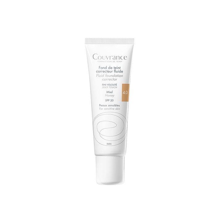 Avene Couvrance Фон дьо тен за чувствителна кожа, 4.0 Honey SPF 20 x30 мл