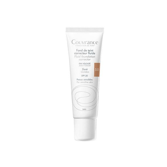 Avene Couvrance Фон дьо тен за чувствителна кожа, 5.0 Golden SPF 20 x30 мл