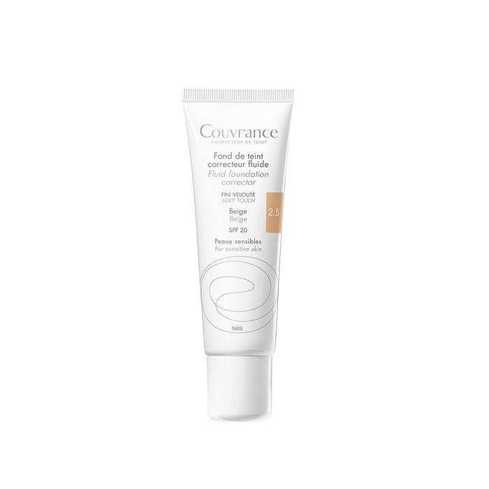 Avene Couvrance Фон дьо тен за чувствителна кожа, 2.5 Beige SPF 20 x30 мл