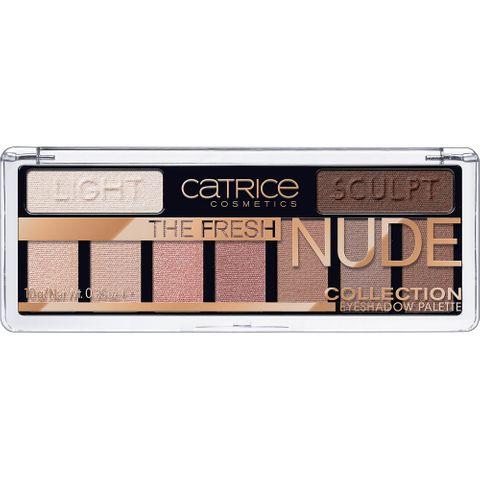 Catrice The Fresh Nude Сенки за очи палитра, 010
