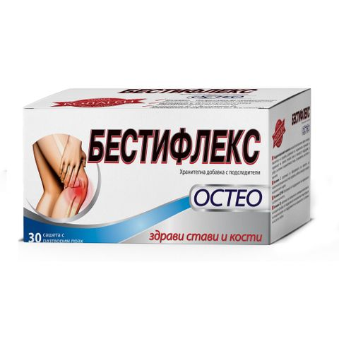 Бестифлекс Остео за здрави стави и кости х30 сашета Naturprodukt