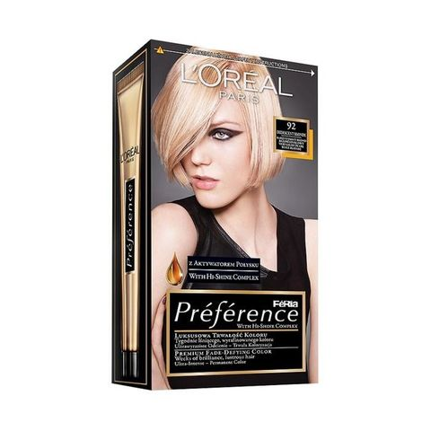 Loreal Preference Recital Боя за коса, цвят 92 Iridescent Blonde