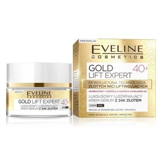 Eveline Gold Lift Expert Дневен и нощен крем за лице..