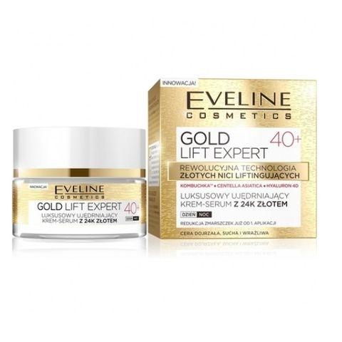 Eveline Gold Lift Expert Дневен и нощен крем за лице против бръчки 40+ х50 мл