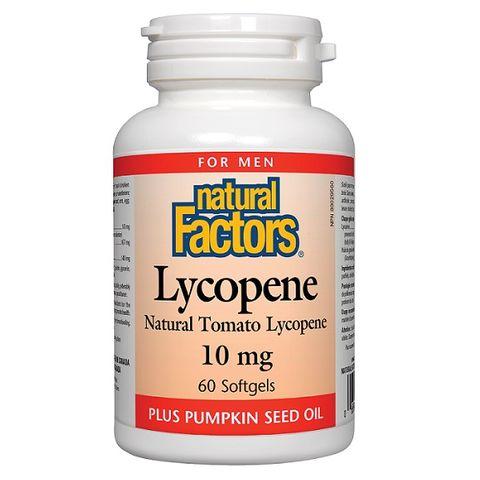 Natural Factors Ликопен 10 мг х60 софтгел капсули