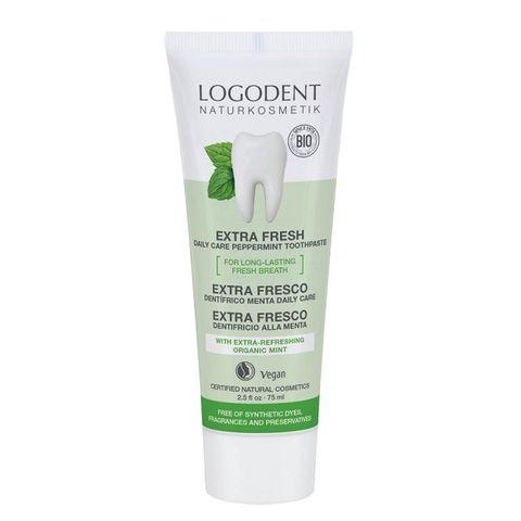 Logodent Extra Fresh Веган паста за зъби с мента х75 мл
