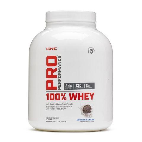 GNC Pro Performance 100% Whey Суроватъчен протеин с вкус на бисквитки и сметана х2195,2 грама