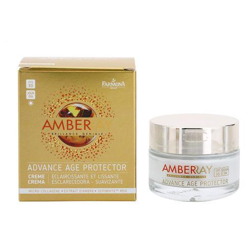 Farmona Amberray Подмладяващ и избелващ дневен крем за лице с кехлибар SPF30 x50 мл