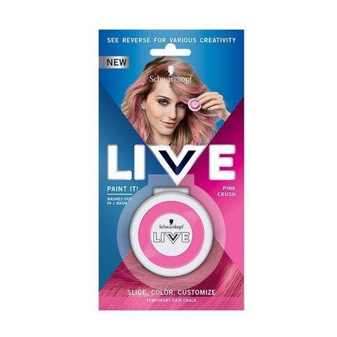 Schwarzkopf Live Paint It! Апликатор за коса за временни кичури, цвят Pink Crush