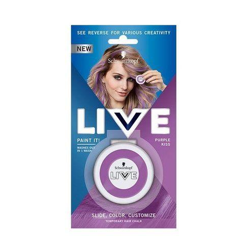 Schwarzkopf Live Paint It! Апликатор за коса за временни кичури, цвят Purple Kiss