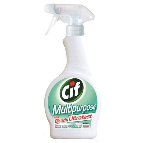 Cif Ultrafas Почистващ препарат с белина x500 мл