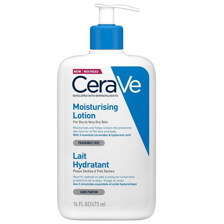 CeraVe Хидратиращ лосион за суха и много суха кожа х473 мл