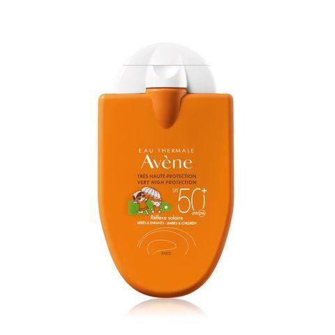 Avene Reflex Kids Слънцезащитна емулсия за деца и бебета за  чувствителна кожа SPF 50+ x30 мл