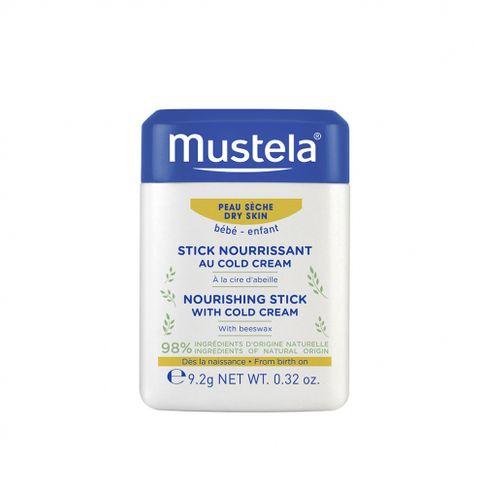 Mustela Хидра стик с колд крем за бебета и деца за суха кожа х9,2 грама