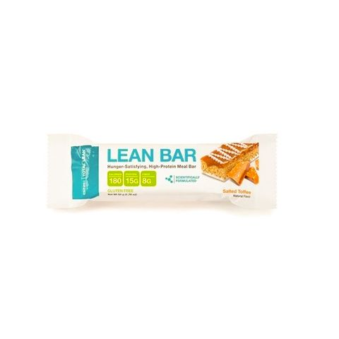 GNC Total Lean Lean Bar Salted Toffee Протеиново блокче с вкус на солен карамел х50 грама
