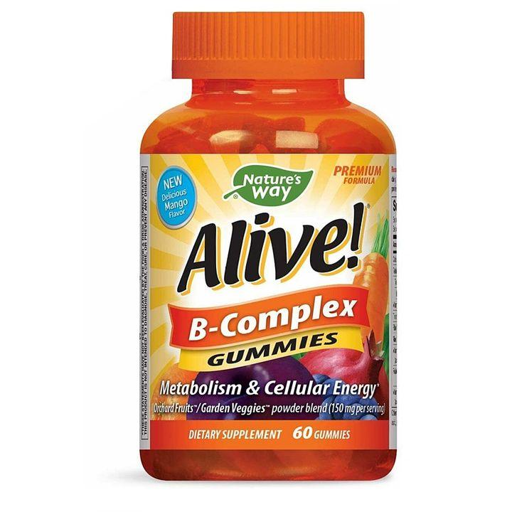 Alive B-complex За оптимално здрав организъм х60 желирани таблетки Nature's Way