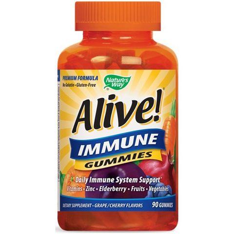 Alive Immune Мултивитамини за здрав имунитет х90 желирани таблетки Nature's Way