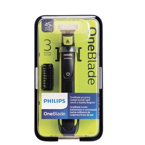 Philips OneBlade Хибриден стилизатор за бръснене и подстригване QP2520/20