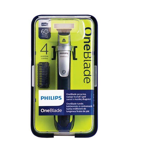 Philips OneBlade Хибриден стилизатор за бръснене и подстригване QP2530/20