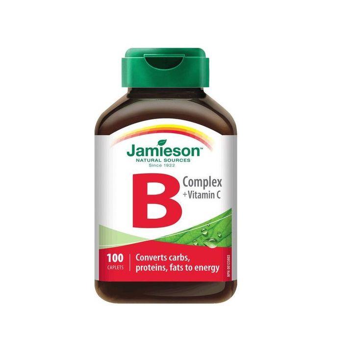 Jamieson Витамин B комплекс + Витамин C х100 капсули