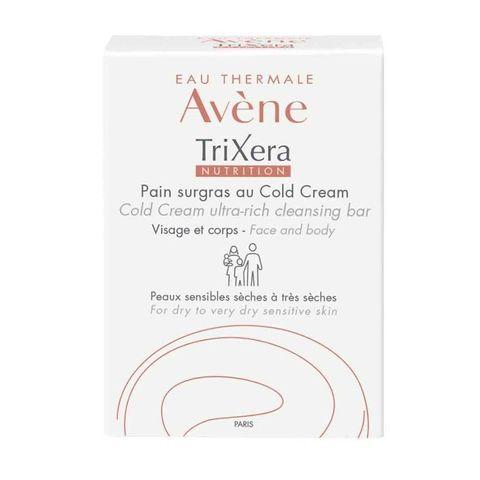 Avene TriXera Nutrition Сапун за лице и тяло за суха и чувствителна кожа х100 грама