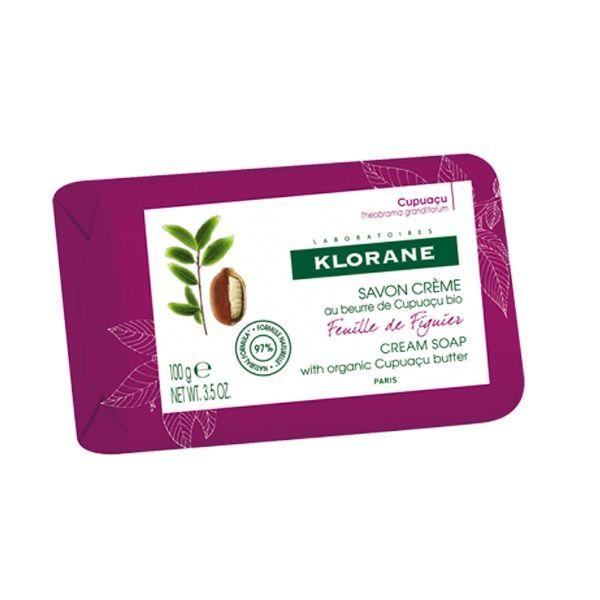 Klorane Подхранващ сапун със смокиня х100 грама