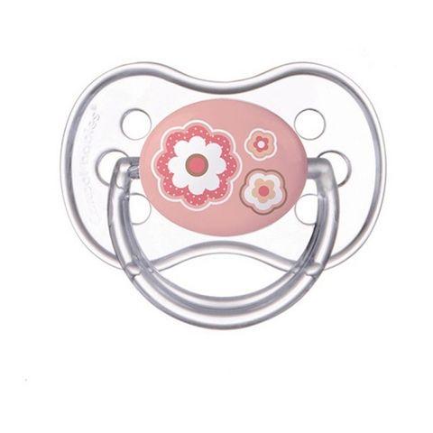 Canpol babies Newborn Baby Залъгалка силикон със симетрична форма за деца от 6 до 18 месеца - 22/581