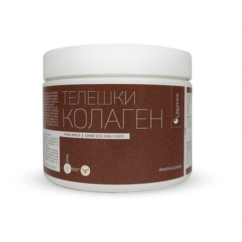 Lifestore Натурален телешки колаген на прах за здрава коса, кожа, нокти и стави х150 гр.