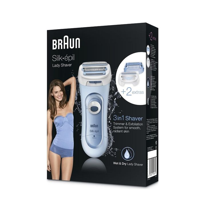 Braun Silk Epil LS 5160 Електрическа дамска самобръсначка х1 брой