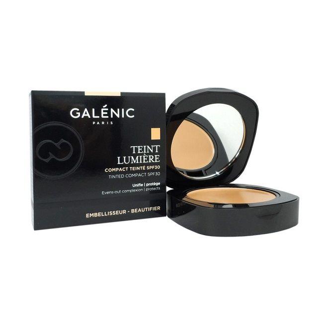 Galenic Teint Lumiere Компактна пудра за лице със слънцезащитен фактор SPF30 х9 гр