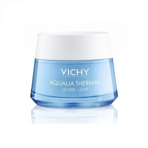 Vichy Aqualia Thermal Light Лек хидратиращ дневен крем за лице за нормална до смесена кожа x50 мл