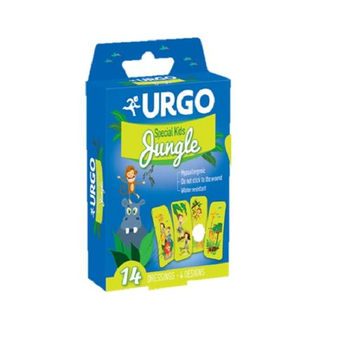 Urgo Special Kids Jungle Пластири за деца х14 броя