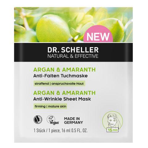 Dr. Scheller Маска против бръчки с арган и амарант за зряла кожа х16 мл